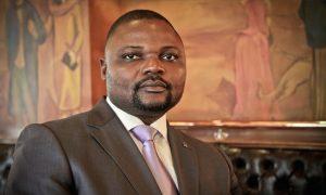 Emery Okundji, ministre des PTT et NTIC