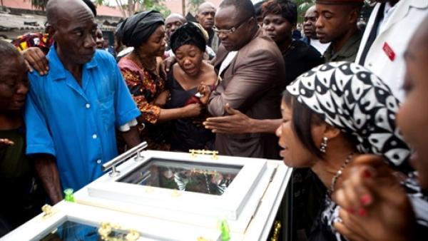 Funérailles de Floribert Chebeya le 26 juin 2010 à Kinshasa