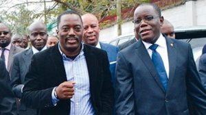 """""""Joseph Kabila"""" et Aubin Minaku"""