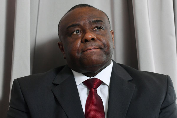 Former vice-president of Democratic Republic of Congo Jean-Pierre Bemba. AFP PHOTO